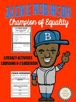 Jackie Robinson Literacy Activities for Louisiana K-2 Guidebook