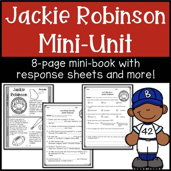 Jackie Robinson Mini-book for Black History Month