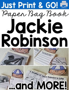 Jackie Robinson Paper Bag Book (and MORE!)