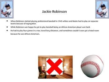 Jackie Robinson PowerPoint