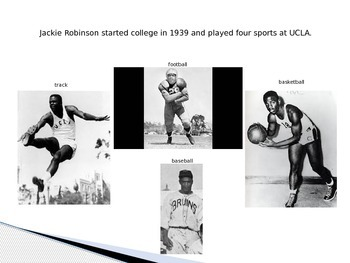 Jackie Robinson PowerPoint and DI activity