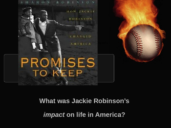 Jackie Robinson Promises to Keep Lesson 11 & Lesson 12