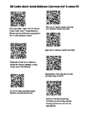 Jackie Robinson QR Codes (Journeys Unit 4 Lesson 17)
