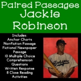 Jackie Robinson Reading Comprehension Paired Passages