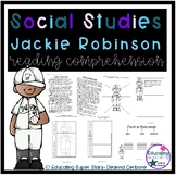 Jackie Robinson Reading Comprehension and Graphic Organizers