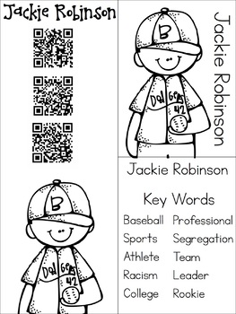 Jackie Robinson Research Materials