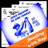 Jackie Robinson Reading Passage, Civil Rights Activities and Rap Song