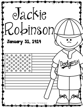 Jackie Robinson Research Report Bundle