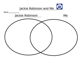Jackie Robinson Venn Diagram that you can Edit