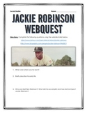 Jackie Robinson - Webquest with Key