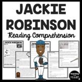 Jackie Robinson Biography Reading Comprehension Worksheet Black History