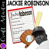 Jackie Robinson craft activity (Black History)