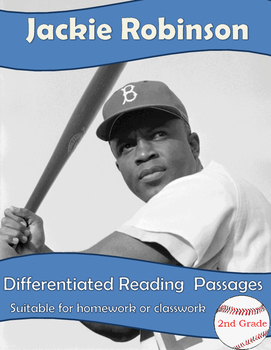 Jackie Robinson - differentiated reading passages