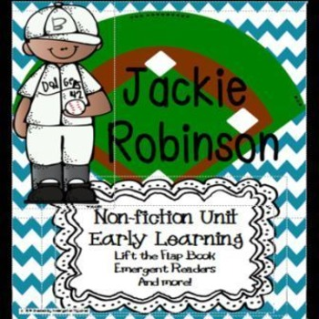Jackie Robinson for Early Learners:  Black History Month
