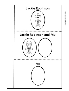 Jackie Robinson's Interactive Notebook Pages