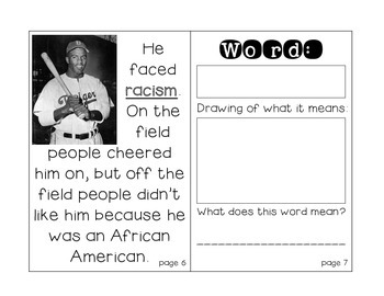 Jackie Robinson: Close Reading Passages with an Interactive Notebook
