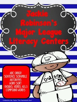Jackie Robinson's Major League Literacy Centers