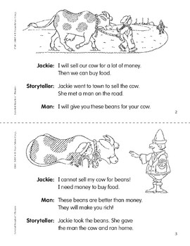 Jackie and the Beanstalk (Leveled Readers' Theater, Grade 1)