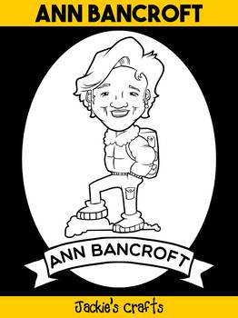 Jackie's Crafts - Biography Craft Activity Book - Ann Bancroft