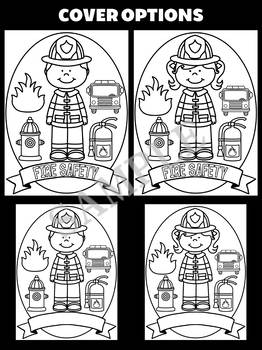 Fire Safety Craft Activity Book - Jackie's Crafts, Fire Prevention Week Activity