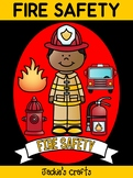 Fire Safety Craft Activity Book - Jackie's Crafts, Fire Pr