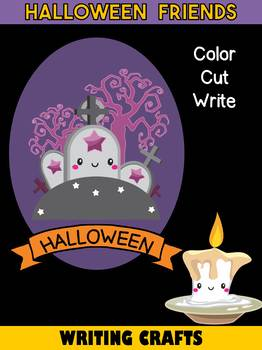 Jackie's Crafts - Halloween Friends Writing Crafts SET - 11 Characters in All