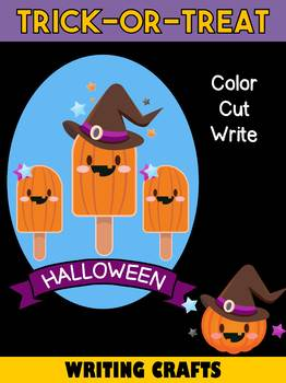 Jackie's Crafts - Halloween Trick-or-Treat Writing Crafts SET - 11 Covers in All