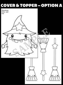 Jackie's Crafts - Halloween Witch Monster Craftivity, Writing Activity