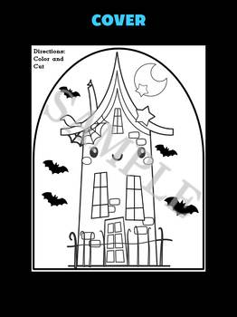 Jackie's Crafts - Haunted House Craftivity, Activity, craft, writing, Halloween