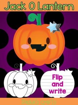 Jackie's Crafts - Jack O Lantern Craftivity, Activity, Halloween, Pumpkins
