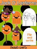 Jackie's Crafts - Jack O Lantern Pairs Craftivity, Activity, Halloween, Pumpkins