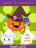 Jackie's Crafts - Jack O Lantern Witch Craftivity, Activity, Halloween, Pumpkins