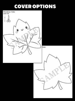 Jackie's Crafts - Maple Leaf Craftivity, leaves, Fall Activity, Canada, autumn