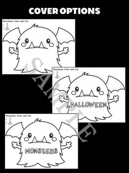 Jackie's Crafts - Monster Craftivity, Halloween Monsters Writing Activity