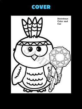 Jackie's Crafts -  Native American Owl Craftivity - Dream catcher Activity