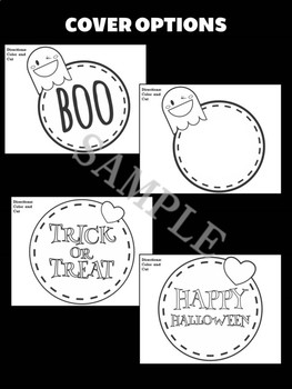 Jackie's Crafts - Sweet Halloween Trio Craftivity, Activity, Set of 3