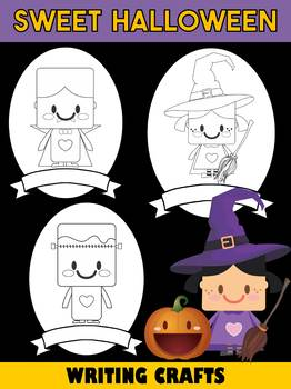 Jackie's Crafts - Sweet Halloween Writing Crafts SET - 11 Covers in All