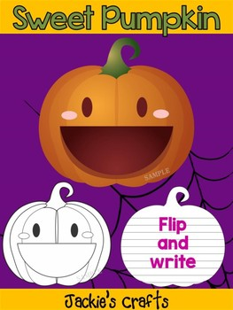 Jackie's Crafts - Sweet Pumpkin Craftivity, Activity, Creative Writing