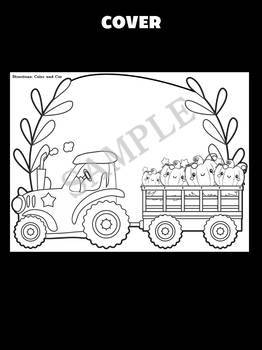 Jackie's Crafts - Tractor Pumpkins Craft, Fall Activity, Writing, autumn