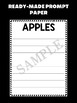 Jackie's Crafts - Writing Craftivity - Apples, editable, fall, johnny appleseed