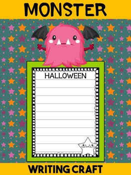 Jackie's Crafts - Writing Craft - Halloween Monster Activity, Craftivity