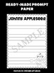 Jackie's Crafts - Writing Craftivity - Johnny Appleseed, Writing Activity