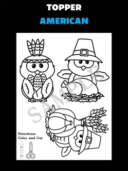 Jackie's Crafts - Writing Craftivity - Thanksgiving Owls, Canadian Thanksgiving