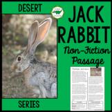 Jackrabbit Non Fiction Passage Close Read - Desert