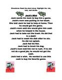Jack's Wish: -ish, -ash, -ush Word Family Practice