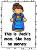 Jack and The Beanstalk (Emergent Reader, Teacher Lap Book, and Picture Cards)
