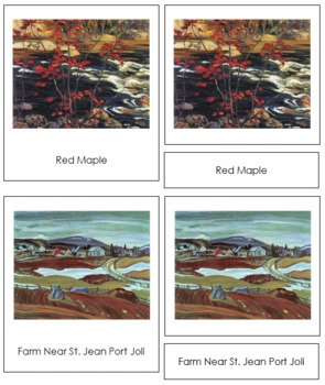 Jackson (Alexander Young) 3-Part Art Cards