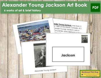 Jackson (Alexander Young) Art Book