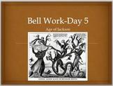 Jackson-BELL WORK days 2, 4, 5, 6, 8, 9