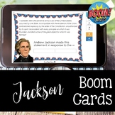 Jackson BOOM CARDS for Distance Learning
